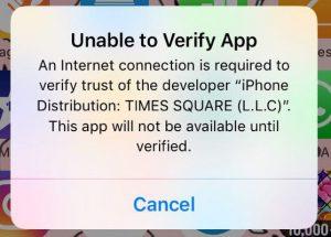 اپلیکیشن های ایرانی در iOS مسدود شدند .